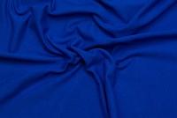 Stretch jersey in classic quality in cobolt blue