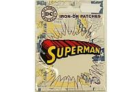 Superman tekst-logo ironing patch