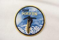 Surf waves patch 7cm