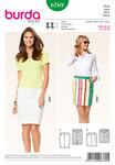 Skirt, Jeans optics