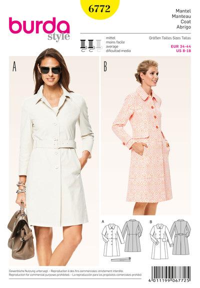Coat, classic line