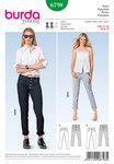 Jeans, boyfriend-style