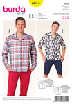 Mens shirt, leisure look