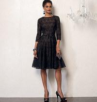 Vogue pattern: Dress and Slip