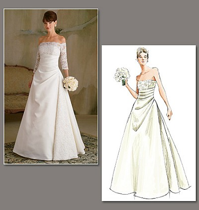 Wedding dress, evening dress