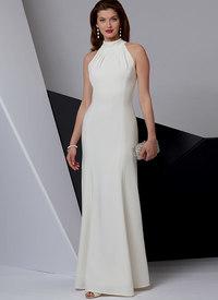 Special Occasion Dress, Very Easy Vogue. Vogue 9373.