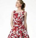 Butterick 5748. Petite retro dress.