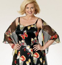 Wrap and Dress. Butterick 5761.