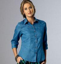 Butterick 6026. Top, shirt.