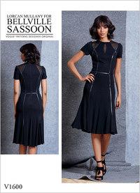 Dress, Bellville Sassoon. Vogue 1600.