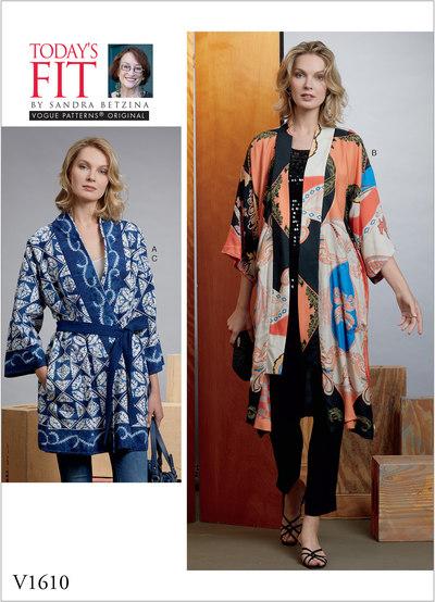 Kimono and Belts, Sandra Betzina