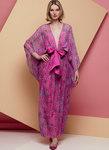 Vogue 1627. Special Occasion Dress and Sash, Zandra Rhodes.