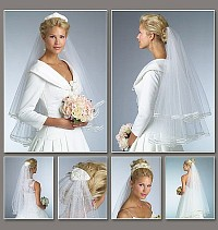 Bridal Veils. Vogue 8374.