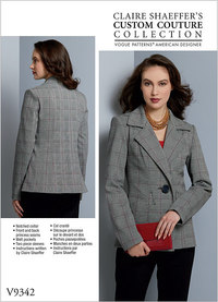 Jacket, Claire Shaeffer. Vogue 9342.