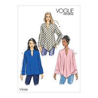 Top. Vogue 9348.