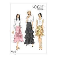 Skirt. Vogue 9349.