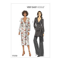 Top, Dress and Pants. Vogue 9350.