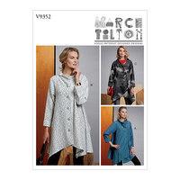 Coat, Marcy Tilton. Vogue 9352.