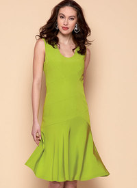 Dress, Claire Shaeffer. Vogue 9369.