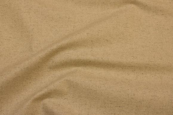Acrylcoated textile-table-cloth in sand-color, teflon-treatment