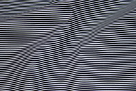 Black and white narrow-striped cotton