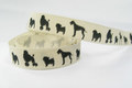 Dog ribbon width 1.5 cm.