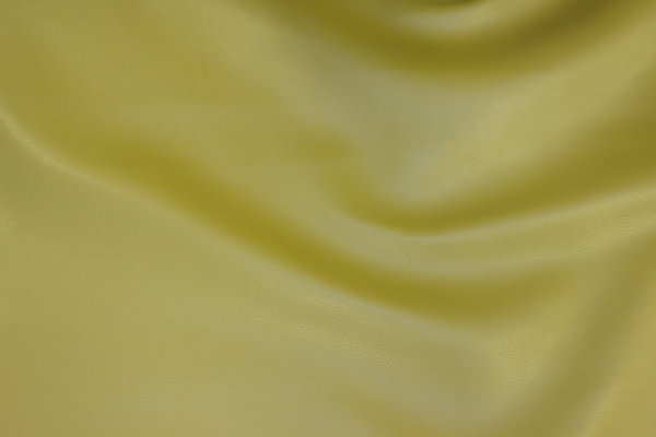 Faux smooth hide in light olive-colored