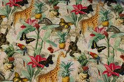 Light cotton-jersey with jungle-animals