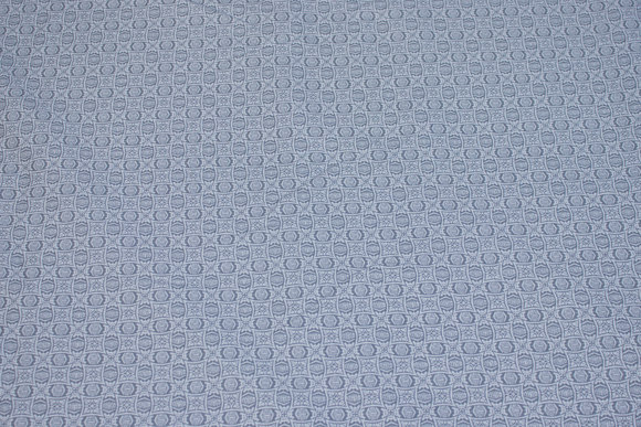 Light grey cotton with small white pattern