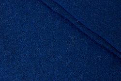 100 % wool bouclé in speckled navy