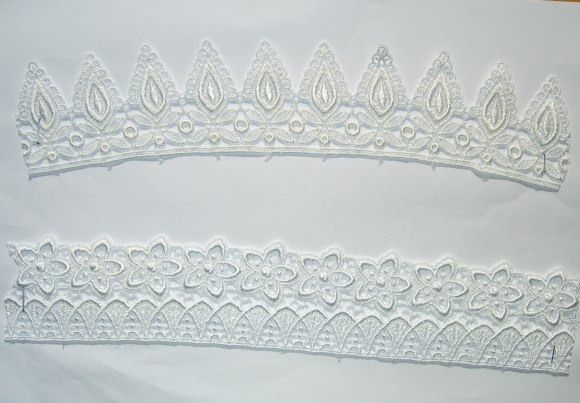 Spachtel lace trim no. 6