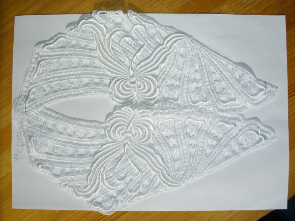 Spachtel lace trim 4