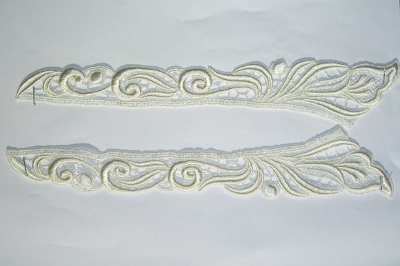 Spachtel lace