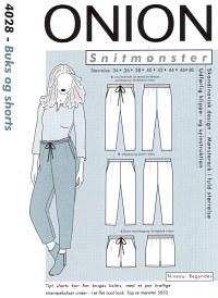 Onion pattern: Pants and shorts