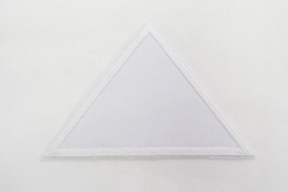 Triangle white 8x11cm