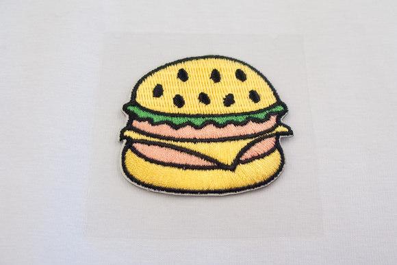 Burger patch 4,5x5cm