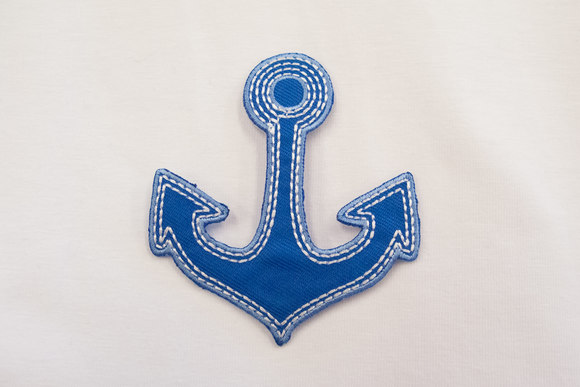 Anchor patch 9x5cm