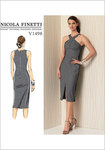 Vogue 1498. Criss-Cross Strap Dress - Nicola Finetti.