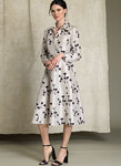 Half-Placket, Long Sleeve Shirtdress - Rachel Comey