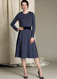 Vogue pattern: Popover Midi Dress - Tracy Reese