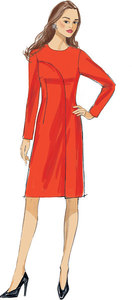 Vogue pattern: Asymmetrical-Overlay Dresses