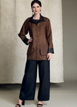 Reversible Jacket and Tank Top, and Dolphin-Hem Pants - Kathryn Brenne