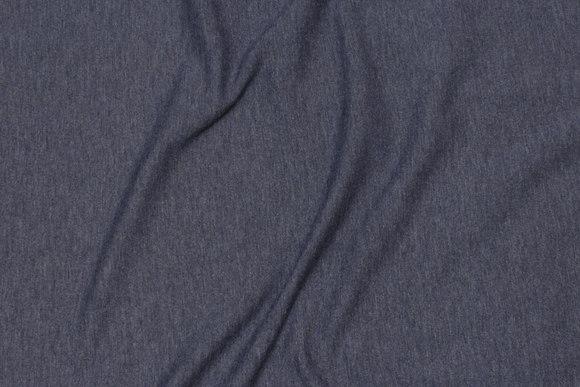 Speckled jersey in dark dove-blue