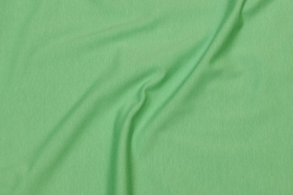 Apple-green cotton-jersey