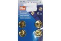 Golden snap fasteners 17 mm