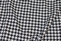 Beautiful black and white hanefjeds-tweed