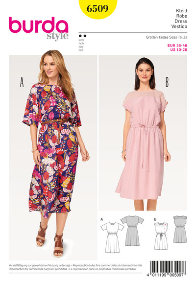 Dress, Elastic Waist