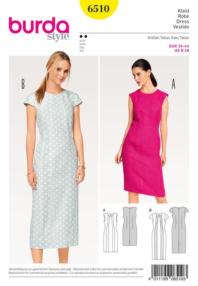 Dress, Shift, Panel Seams