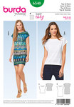 Burda 6540. Top, Dress, Sleeveless  .