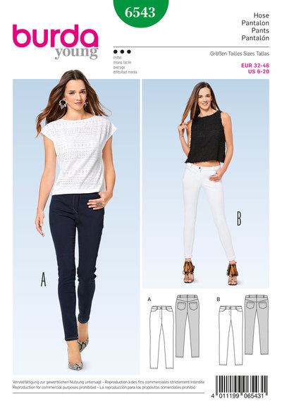 Skinny Pants/Trousers, Jeans